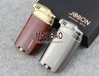 Jobon Cigarette Cigar Smoking Pipe Butane Gas Lighter Tobacco Pipe Lighter With Gift Box