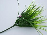Artificial grass green  plants simulation artificial grass plants simulation grass fake grass for home decoration 10pcs MA1504