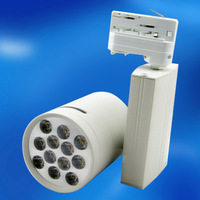 Lowest price&guaranteed 100% high quality 12W AC 110-240V  White/Warm White LED Track Light