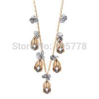 New Auth J-C/-J Jewelry Alloy pendant  NECKLACE Copper Chain