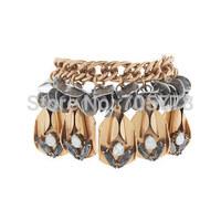 New Auth J-C/-J Jewelry Alloy bracelet Copper Chain