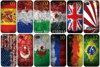 Lowest price!100% brand design World Cup Teams case mobile phone shell hard back cover for iphone 5C 10PCS/lot+Free shipping
