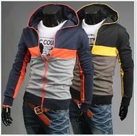2014 New  fashion  Men's cardigan Korean men's Hoodie Jacket, men's hoodies jackets