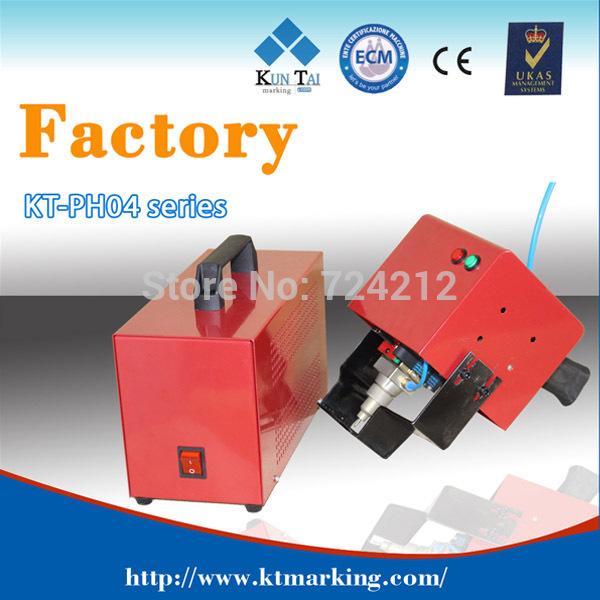 Promoção de fábrica! Mais barata mini portátil china dot pin pneumática marcação máquina de gravura em peças de metal(China (Mainland))