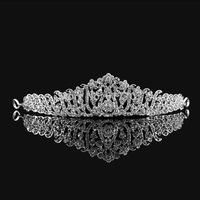 2014 New Luxurious Crystal Leaf  Tiara Crown Wedding Hair Accessories Bridal Hair Jewelry Wedding Accessories HG107
