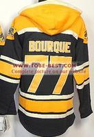 #77 Ray Bourque Jersey Black Orange,Ice Hockey Jersey Hoodie, Hoodies Jersey,Best quality,Embroidery logos,Size M--XXXL,Mix O