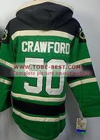 Hockey Jerseys #50 Corey Crawford Green,ice Hockey Hoodie, Hoodies Jersey,best Quality,embroidery Logos,size M--xxxl,mix Order