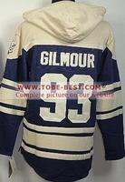 #93 Doug Gilmour Jersey Milk White,Ice Hockey Jersey Hoodie, Hoodies Jersey,Best quality,Embroidery logos,Size M--XXXL,Mix Or