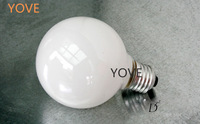 Pearl Modern Tungsten Incandescent Carbon Bulb Lamps Hanging Light G95 Bulb 40W E27 G125 G80 Screw White Free Shipping