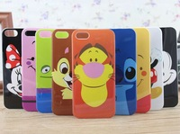 for iphone 4 4s cases Cute cartoon tiger chips stitch minnie mouse cell phone cases covers for iphone4 free shipping