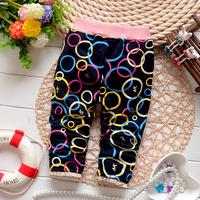 Free shipping Autumn New Colored circles children leggings pants,baby girls leggings,girl pants#Z706