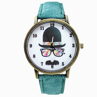 Free Shipping 2014 New Fashion Trendy Dress Watches Golden Analog Quartz Wristwatches Steel Band Dress Watch Lady's Clock Gifts