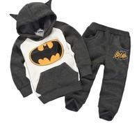 2014 autumn & winter children's suits ! kids clothing long-sleeve hooded shirt plus long pants set