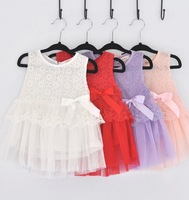 Baby girl's summer dress,tank dress,4 colors for choose