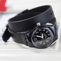 Fashion Long Rubber strap Free Shipping Candy colored Leisure sport watches Quartz Wrist Watch Men & Women Watch