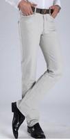 2014 fashion men's long pant men leisure pants middle-aged men's pants