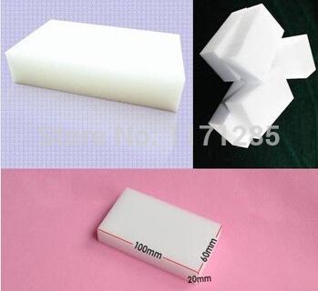 Free shipping Neeka 20 pcs/lot Magic Sponge Eraser Melamine Cleaner,multi-functional Cleaning 100x60x20mm Wholesale Retial(China (Mainland))