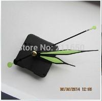 Free ship, Quartz Clock Movement Kit Spindle Mechanism Tool shaft 20mm with luminous clock hands