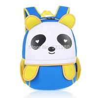 YG8DIAN Children Toddler Kid's Neoprene School Bag Backpack, Panda (Size: 9.06x5.51x13.39inch)