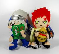2014 Naruto  Plush Toy 20CM Cute Soft Stuffed Gaara/Kakahi Plush Doll 2PCS/Set High Quality  Best Gift  Free Shipping