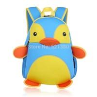 YG8DIAN Children Toddler Kid's Neoprene School Bag Backpack, Penguin (Size: 9.06x4.72x13.39inch)