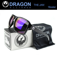 DRAGON JAM Sunglasses Men Cycling Eyewear Retail oculos de sol 2015 New Surfing Coating Sunglass Women with original packaging