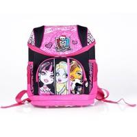 hot new arrival Fashion Brand Design Children Girl's Oxford cars school bag Skull Backpack Cartoon MONSTER HIGH mochila infantil