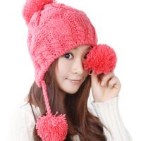 Женская шляпа шарф установить комплект серый осенний и зимний тепловой был шарф