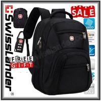 Brand SwissLander,SwissGear,Swiss Army,15.6 inch men's laptop backpacks,women's computer backpacks,notebook bagpacks w/raincover