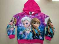 NEW 2014 Autumn Frozen Elsa & Anna Coat Children Outerwear casaco infantil Frozen Hooded jaquetas infantis