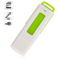 Free shipping Green 8GB Keychains Digital Voice Recorder USB Flash Drive online shopping