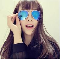 IVE reflective Sunglasses boomers classic 30253026 men and women fashion sunglasses retro flight Sunglasses