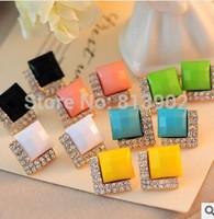2014 Fashion jewelry 4pcs/lot big shop sign style restoring ancient ways fashion stud earrings