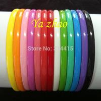 8MM Girl's Plastic headbands, Baby Headbands 13 colors in stock,  65pcs/lot Free shipping