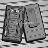 Heavy Duty for LG Optimus L7 P705 Stand Case Cover For US730 Phone Cover Case Armour phone cover case for LG Optimus L7 P705