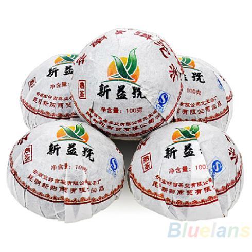 Xin Yi Hao Menghai Tuo Cha Puer Tea 100g Ripe 04OX