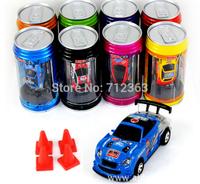 Free DHL,96PCS 8 color Mini-Racer Remote Control Car Coke Can Mini RC Radio Remote Control Micro Racing 1:64 Car 8803
