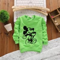 2014 autumn Free Shipping 100% Cotton Fashion cute minkey print Children T Shirts,Kids Boys Tops,Child Tees Clothing 4pcs/lot