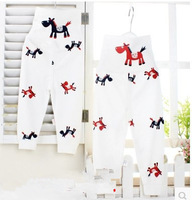 Animal   leggings High waist baby pants 100% cotton super soft new modle 1pcs Retail for girl and baby 3size