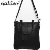 2014 hot sale casual men PU leather handbag High quality crossbody shoulder bag Messenger bag Laptop Bag free shipping