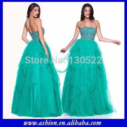 ED-2310 Stunning beautiful dress sequin dresses custom made fabric(China (Mainland))