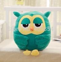 The Heirs green Owl bolster hand pillow cushion plush toy doll  Korean Drama k-pop kpop lovely gift