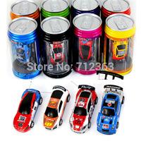 Free DHL,48PCS 8 color Mini-Racer Remote Control Car Coke Can Mini RC Radio Remote Control Micro Racing 1:64 Car 8803