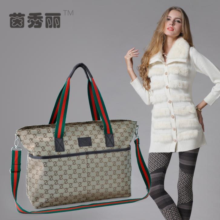 2014 neue heiße verkäufe marke babywindel taschen windel taschen mode und wasserdicht mumie taschen