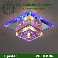 brief LED crystal ceiling light,applicable for corridors,porches and hallways