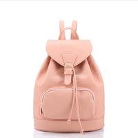 2015 japan style backpacks for teenage girl cute school bags leather mochilas larger korean women school backpack