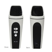 3C 100% Brand Fashion Mini Microphone Player For Home KTV Singing Recorder Microphones For iPhone iPad Laptop For Sale C3