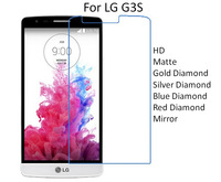 For LG G3S HD/Matte/Diamond Screen Protector Film Free Shipping