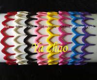 Fashion Plastic headbands Comb For Girls, Women  8 colors in stock,  48pcs/lot Free shipping