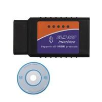 Free shipping  Elm 327 Bluetooth OBDII ODB2 Car Scan Tool ELM327 Bluetooth Diagnostic Interface Scanner ELM327 auto Code Scanner